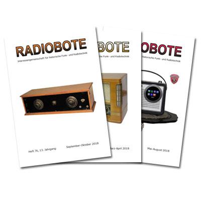 Ausgaben des Radioboten